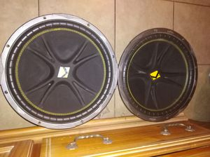 "15"" kicker subs and kicker zx 750.1 amp for Sale in Phoenix, AZ"