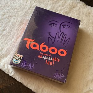 Taboo Game New for Sale in Fresno, CA