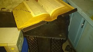 Webster unabridged 1940 with stand for Sale in Shamokin, PA