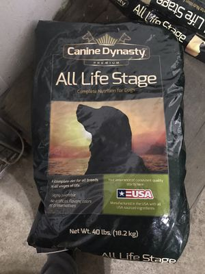 Canine Dynasty All Stages Dog Food for Sale in Lake Tapawingo, MO
