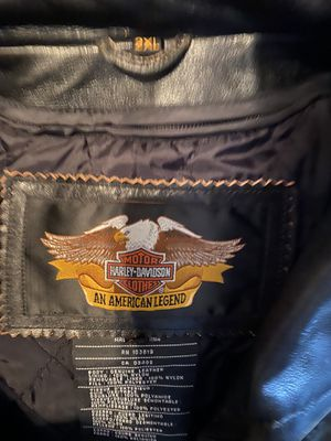 Harley Davidson vintage motorcycle riding jacket Authentic for Sale in Chula Vista, CA