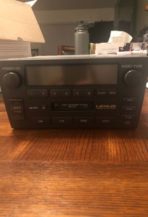 Lexus Stock Stereo Premium Sound System for Sale in Riverside, CA