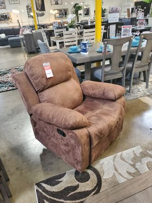 Fabric Recliner, Brown **ONE LEFT** for Sale in Santa Ana, CA
