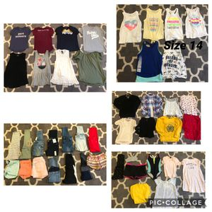 Super cute girls name brand clothing size 10/12 and a few 14 $3-$5 each for Sale in Fremont, CA