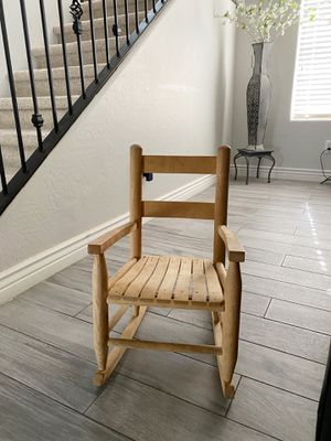 Kids rocking chair $10 firm on price for Sale in Tolleson, AZ