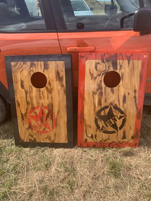 Jeep corn hole boards for Sale in Fort Meade, FL