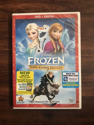 Disney Frozen Full Movie DVD - Sing-Along Edition ...New in Sealed Package for Sale in Apopka, FL