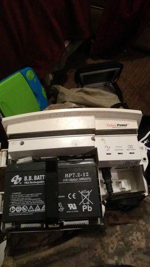 Cyber power backup power for Sale in Wichita Falls, TX