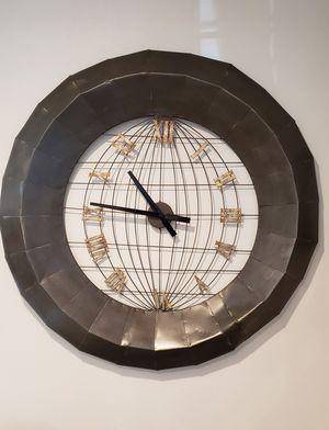 Metal wall clock for Sale in Chesapeake, VA