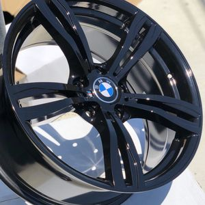 "Brand new 19"" gloss black BMW style wheels 5x120 all 4 PRICE IS FIRM! for Sale in West Covina, CA"