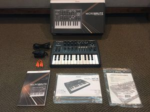 Arturia Micro Brute 25 Mini Key Analog Synthesizer OPEN BOX for Sale in Fontana, CA