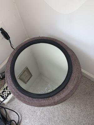Storage bin furniture with mirror for Sale in Alexandria, VA