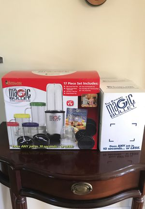 Magic bullet accessories for Sale in Wake Forest, NC
