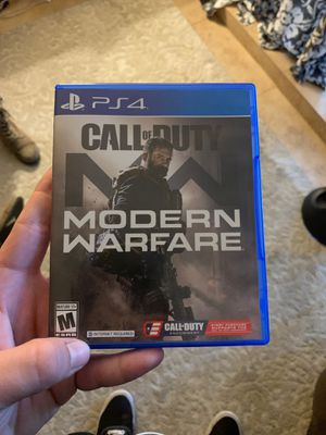 Modern Warfare for PS4 for Sale in Scottsdale, AZ