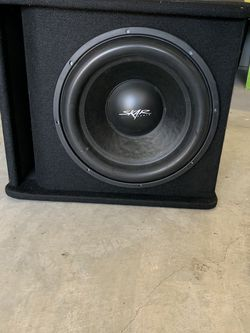 15 Inch Skar Subwoofer with box for Sale in Round Rock,  TX