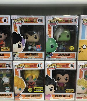Dragon ball z pops for Sale in Cudahy, CA
