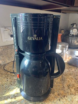 Gevalia 8 Cup Coffee Maker for Sale in Claremont, CA