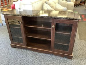 "New Brown 60"" TV Stand for Sale in Virginia Beach, VA"