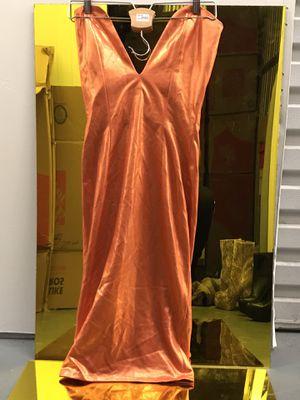 Metallic Orange body dress for Sale in Los Angeles, CA