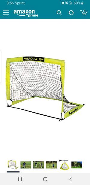 New Blackhawk Fiberglass Soccer Goal net 4 ft x 3ft for Sale in Clovis, CA