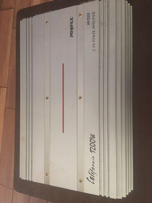 Profile AP1200W 2Ch Amplifier California 1200W for Sale in Cocoa, FL