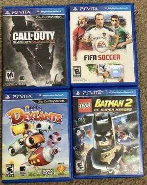 PSVita game bundle for Sale in Fulton, MD