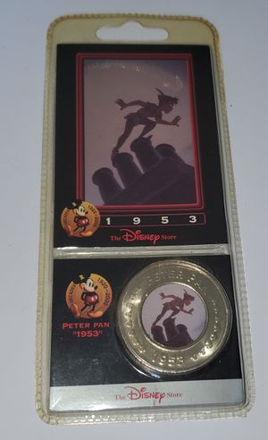 Peter Pan Coin 1953 The Disney Decades Coins & Card Collection for Sale in Auburn, WA