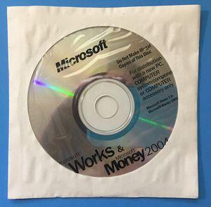 NEW Microsoft Works 7.0 + MS Money + Encarta for Sale in Stockton, CA