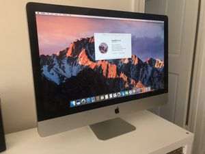 27-inch iMac 3.4 GHz Intel Core i7 for Sale in Washington, DC