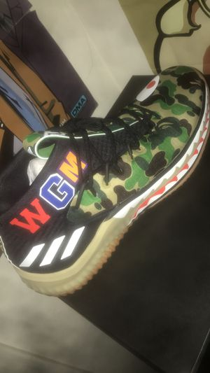 Bape adidas size 10.5 for Sale in Bakersfield, CA