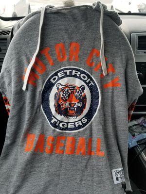 Pink Detroit tigers with rhinestones hoodie for Sale in Taylor, MI