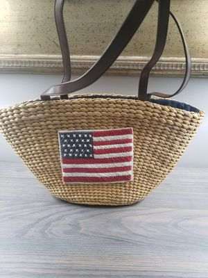 Vintage Style Hand Woven Hand Bag Tote for Sale in Jackson Township, NJ