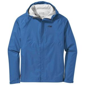 New, L/XL men's outdoor research hooded rain shell jacket, waterproof helium, rei, marmot, patagonia hiking ultralight, Columbia, backpacking for Sale in San Diego, CA