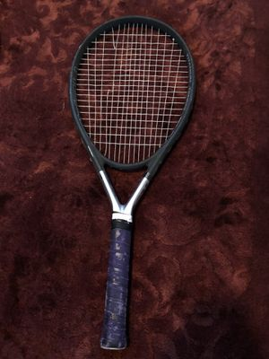 Two tennis rackets and racket holder for Sale in Peoria, AZ