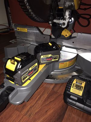 Dewalt sliding compound miter saw flexvolt for Sale in Denham Springs, LA