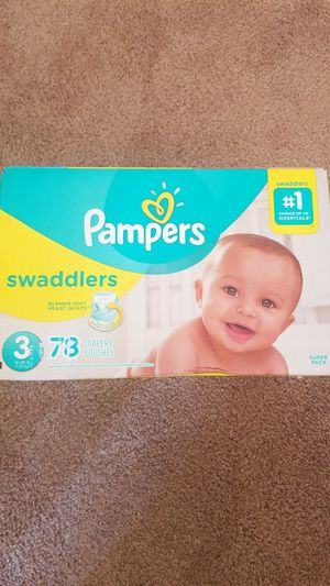 Diapers size 3 brand new for Sale in Elk Grove, CA