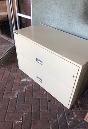 Fireproof file cabinets 2 drawer 2 available for Sale in Pinellas Park, FL