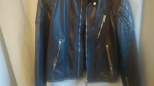 Burberry Men's Leather Moto jacket for Sale in Palo Alto, CA