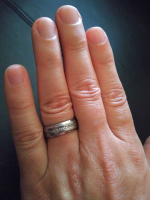 Men's Stainless Steel Ring Size 9 for Sale in Hialeah, FL