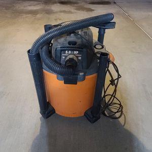 Rigid 5.0 HP 16 Gallon Vacuum $30 for Sale in Alhambra, CA