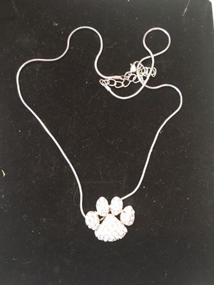 Paw charm necklace for Sale in Henderson, NV