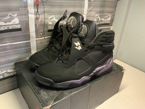 Nike Air Jordan retro 8 'chrome' size 10 for Sale in Cincinnati, OH