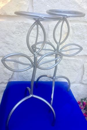 """Set of 14"""" candle holders for Sale in Austin, TX"""