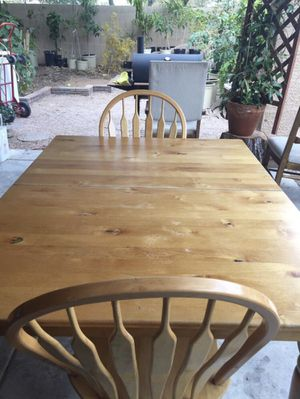 Table with chairs for Sale in Phoenix, AZ
