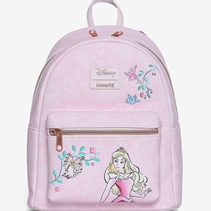 DISNEY LOUNGEFLY SLEEPING BEAUTY AURORA SKETCH MINI BACKPACK for Sale in Montebello, CA
