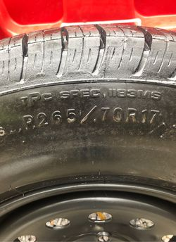 Chevy tire and rim for Sale in Marbury,  AL