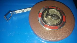 Vintage Evans rule company white tape measure for Sale in Chicago, IL