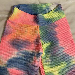 Scrunch Booth Tie Dye Leggings for Sale in West Palm Beach, FL