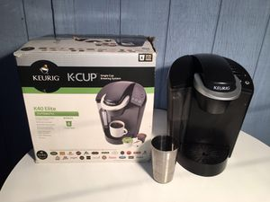 Keurig K40 Elite Automatic KCup Single Cup Brewing System for Sale in Fresno, CA