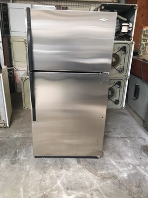 Refrigerator brand Maytag everything is good working condition 90 days warranty delivery and installation for Sale in San Leandro, CA